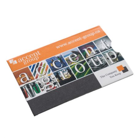 Promotional RFID blocking sleeve